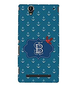 EPICCASE anchor of B Mobile Back Case Cover For Sony Xperia T2 (Designer Case)