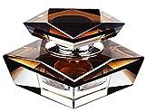 Alien Storehouse Auto-Parfüm-Auto-Lufterfrischer-Parfüm-Flasche für Auto-Dekoration [Braun]