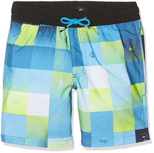 Quiksilver Jungen CHECKMARKVLY15 Check Mark 15 Zoll Schwimmshorts, Bonnie Blue, S/10 (Blue Bonnie Stoffen)