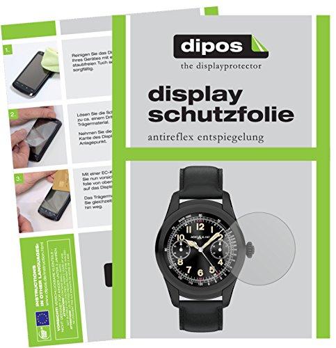 dipos I 6X Schutzfolie matt passend für Montblanc Summit Folie Bildschirmschutzfolie