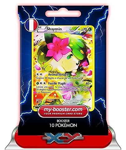 SHAYMIN Full Art XY115 70PV XY11 - Booster de 10 cartes Pokemon francaises my-booster