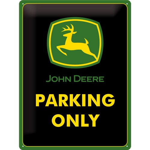nostalgic-art-23117-john-deere-parking-only-blechschild-30-x-40-cm
