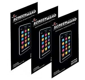 Lumia 830, Scratch Guard No Rainbow Effect [Screenward] (Pack of 3) Clear Screen Protector Scratch Guard For Nokia Lumia 830