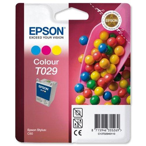 Preisvergleich Produktbild Epson T029 Tintenpatrone Bonbons, Multipack, 3-farbig