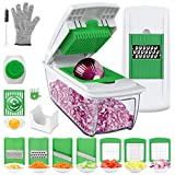 Vegetable Chopper Mandoline Slicer Dicer, Onion Chopper, 13 in 1 Vegetable Dicer Slicer