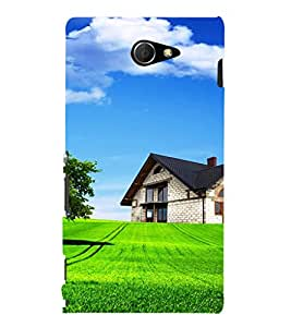 EPICCASE Farm House Mobile Back Case Cover For Sony Xperia M2 (Designer Case)