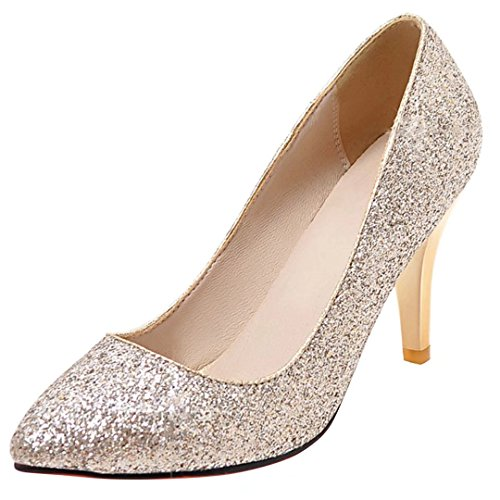 AIYOUMEI Low-Top Donna gold(5cm)