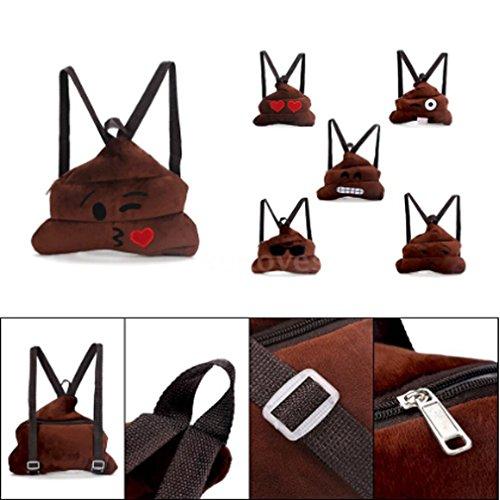 94f387e053721 CanVivi Kinder Rucksack Schultertasche Backpack Emoji Tasche Süße Rucksäcke