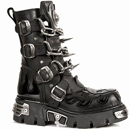 New Rock M 727 S1, Boots mixte adulte Nero (nero)