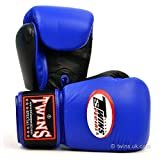 Twins Special 2-Tone Blue-Black Boxing Gloves 16oz