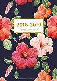 Semesterplaner 2018/2019 A5: Hibiscus Oktober 2018 – Dezember 2019, Studienplaner 1 Woche auf 2 Seiten, Dein Campustimer und Semesterkalender für das neue Studienjahr mit inspirierenden Zitaten!