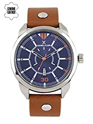 Daniel Klein Analog Blue Dial Mens Watch-DK11301-6