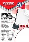 Office Products 20222015–90carátulas para encuadernar PVC, A4, 200g/m², 100unidades), transparente
