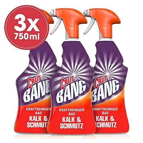 Cillit Bang Kraftreiniger Kalk & Schmutz, 3er Pack (3 x 750 ml)