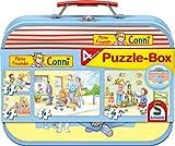 Schmidt Spiele Puzzle 56493 Meine Freundin Conni, Puzzle-Box, 2x24, 2x48 Teile Kinderpuzzle im...