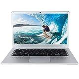 14 Zoll HD Notbook, Windows10 Intel Quad 4Core 2G RAM + 32G ROM 64Bit Gaming Laptop, unterstützt SD-Karte bis zu 128 GB für Studenten Lernen oder Game (EU 100-240V)