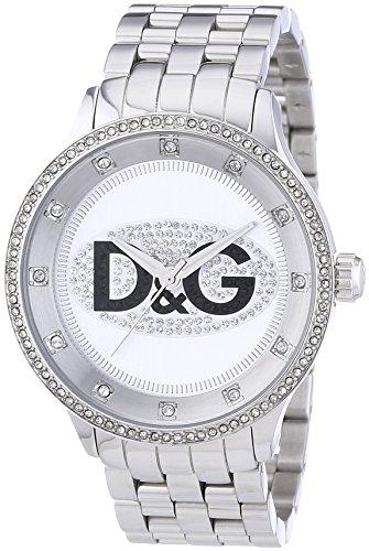 dolcegabbana-dw0131-montre-mixte-quartz-analogique-cadran-blanc-bracelet-acier-argent