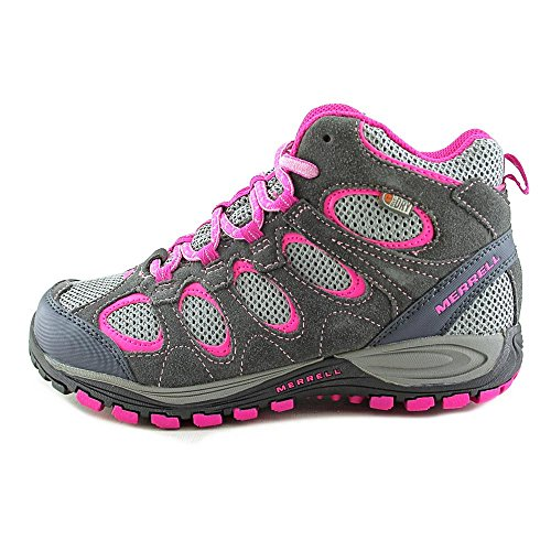 Merrell Hilltop Ventilator Mid Wtpf, Chaussures de sports extérieurs femme Gris