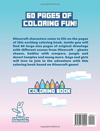 Coloring Book For Minecraft Fans