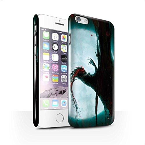 Offiziell Chris Cold Hülle / Glanz Snap-On Case für Apple iPhone 6 / Ghouls der Furcht Muster / Dämonisches Tier Kollektion Dramargu/Vollmond