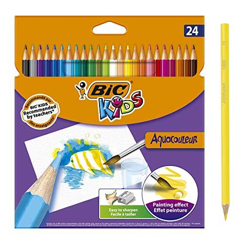 BIC Kids Aquacouleur Lápices Acuarelables