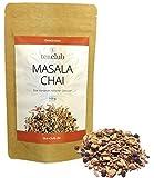Masala Chai Tee Gewürzmischung Lose 100g, Indische Gewürze für Chai Latte, 100% Natürlich nicht Aromatisiert - TeaClub