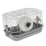 perfk Cage de Hamster Sac De Transport Portable Roue Maison de Petit Animal Hamster...