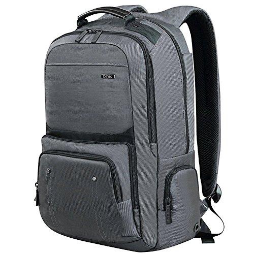 DTBG D8206W Laptop Backpack 17.3Inch Business Style Waterproof - Grey