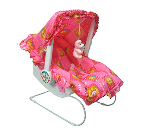 ehomekart kid's pink carry cot cum bouncer - 9 in 1 with bottle holder (print may vary) - feeding chair, baby chair, rocker, bath tub, carrying, bouncer & baby swing - 51 2BHNY3ANdL - Ehomekart Kid's Pink Carry Cot cum Bouncer – 9 in 1 with Bottle Holder (Print May Vary) – FEEDING CHAIR, BABY CHAIR, ROCKER, BATH TUB, CARRYING, BOUNCER & BABY SWING home - 51 2BHNY3ANdL - Home