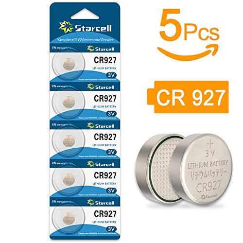 Starcell Cr927 Lithium-Knopfzelle (3 V, 3 V) 5 Pcs