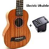 Best GENERIC Acoustic Guitar Pickups - Ukulele Concert Soprano Tenor Ukelele Mini Acoustic Guitar Review