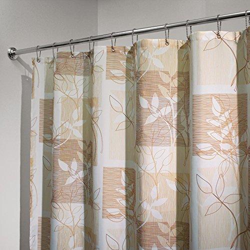 mdesign-floral-block-tenda-doccia-in-tessuto-180-x-180-cm-marrone-marrone-scuro