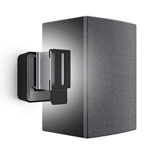 Vogel's SOUND 3200 Universeller Lautsprecher Wandhalter 5kg, Geeignet für Denon Home 150, Schwarz (1x)