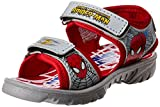 Spiderman Boy's Grey and Red Sandals and Floaters - 8 kids UK/India (26 EU)