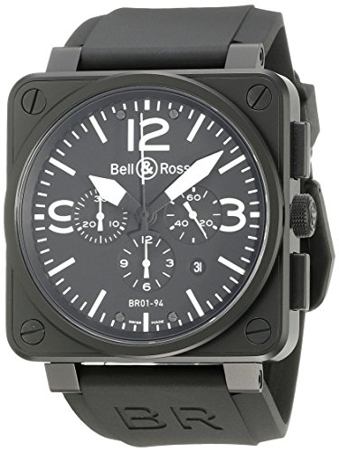 Bell & Ross Aviation BR01-94 Chronograph BR0194-BL-CA
