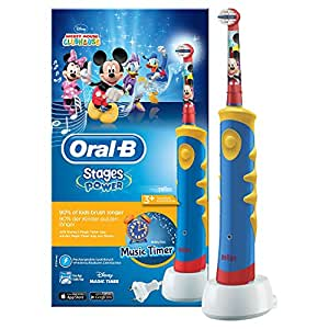 Oral-B Stages Power Kids elektrische Zahnbürste (mit Disney-Micky-Maus)