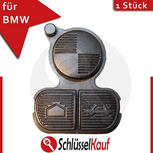 Preisvergleich Produktbild BMW Gummipad Tastenfeld Ersatztasten Schlüssel Fernbedienung - 3 Tasten - passend für: BMW E34 E36 E38 E39 E46 Z3