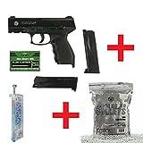 OpTacs Softair Pistole KWC Taurus PT24/7 + Speedloader + 1000 Markenkugeln