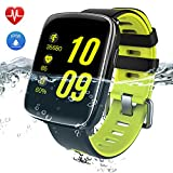 Smart Watch IP68, YAMAY Blutooth Smartwatch Impermeabile IP68 Orologio Fitness Tracker Watch...