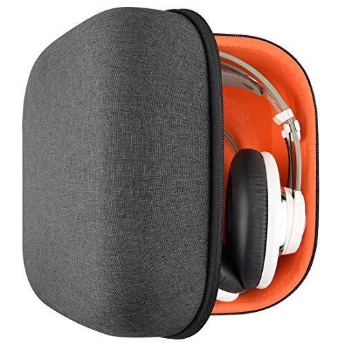 Headphones Case for AKG Q701, K701, K712, K601, K603, K612, K550, K551, Sennheiser HD800, HD700, HD650, HD600, HD380, PXC450, PC163D / Hard Shell Large Carrying Case/Headset Travel Bag