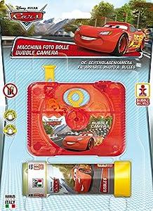 Dulcop-500.144000-Cars-Cámara de Burbuja-10,4x 9,5x 2,9cm-Tubo de jabón-60ml