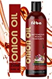 Feba Red Onion Oil For Hair Growth, Men and Women Natural Ingredients No