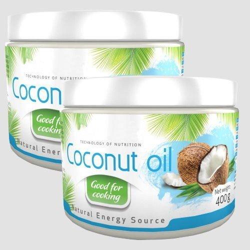 800ml 800g 2x 400g Coconut Oil Kokosl Kokosfett Kokosnussl Geruchlos 100 Natrlich Und Rein Reich An Ungesttigten Fettsuren
