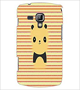 PrintDhaba Cartoon D-2979 Back Case Cover for SAMSUNG GALAXY S DUOS S7562 (Multi-Coloured)