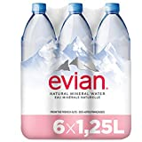 Evian Agua Mineral Natural Essence - Pack 6 x 1,25 l