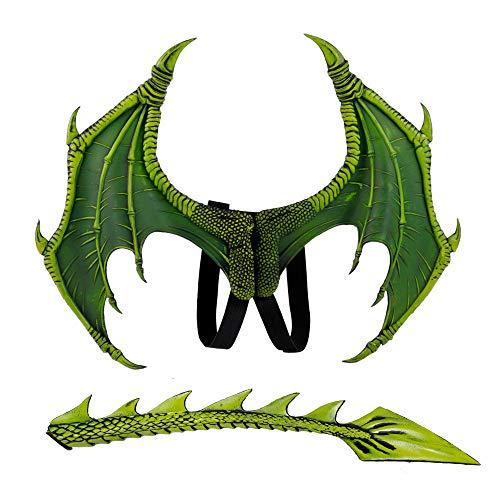 Machen Dragon Wings Kostüm - ZGY Kinder Halloween Dragon Wings Schwanz