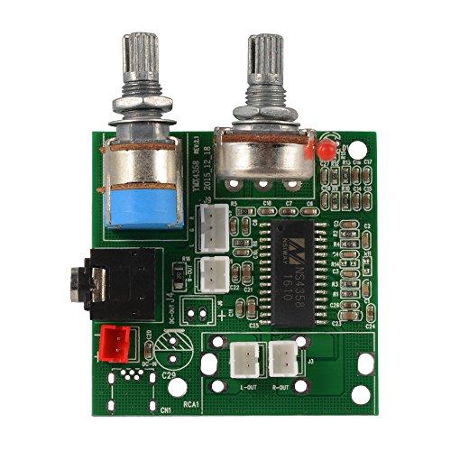 5V 20W Verstärker Board 2.1 Kanal 3D Surround Bass Digital Stereo Subwoofer Class-D Amp