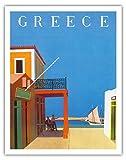 Pacifica Island Art Griechenland - Hydra - Vintage Retro