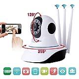 Telecamera IP Camera Nuovo Modello Smart Camera HD 1080p Wireless LED IR LAN motorizzata wifi rete Internet immagine