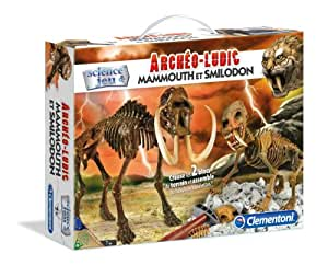 clementoni 62702 8 jeu educatif arch o ludic 39 smilodon mammouth jeux et jouets. Black Bedroom Furniture Sets. Home Design Ideas